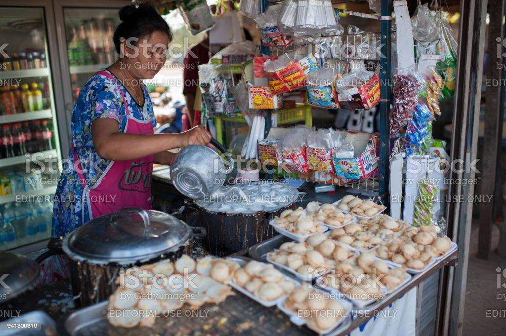 Ban dung, udon thani, Thailand November 01, 2016, stock photo