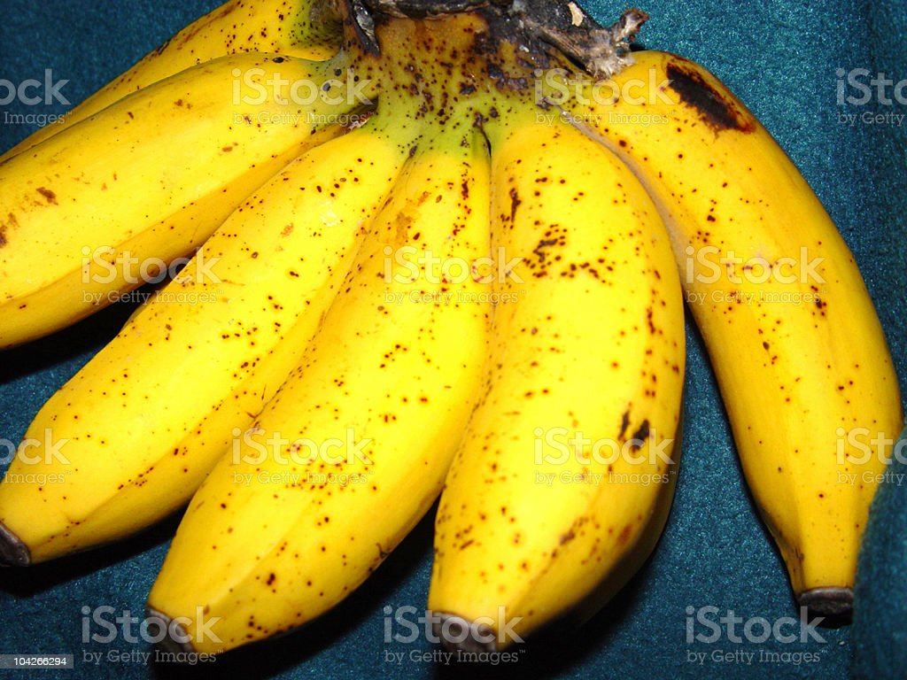 A Banana A Day Takes The Doctor Away stock photo