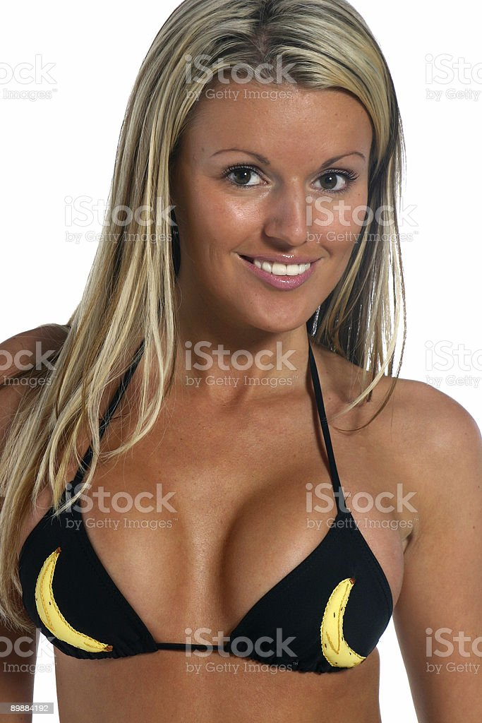 Banana Bikini royalty-free stock photo