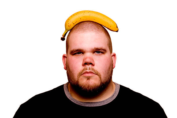 Banana brain stock photo