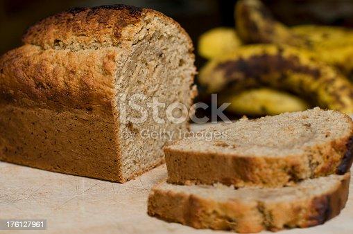 Homemade Australian banana bread.