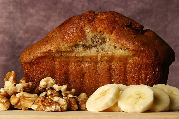 Banana Bread: Whole stock photo