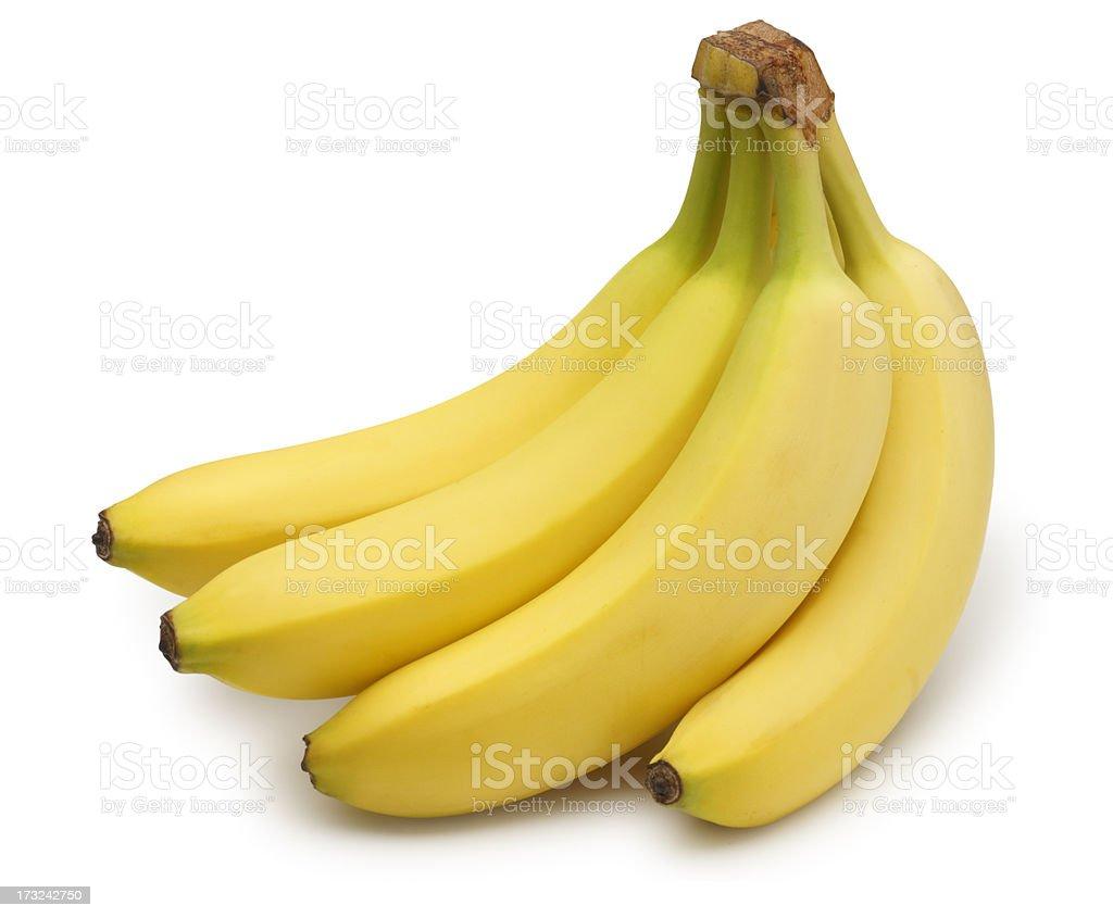 Cacho de bananas - fotografia de stock