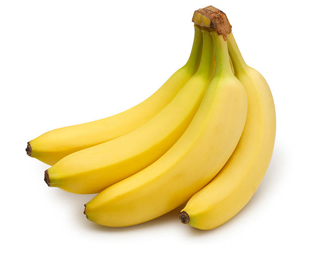 Banana Bunch A bunch of bananas. Clipping path included. banana stock pictures, royalty-free photos & images