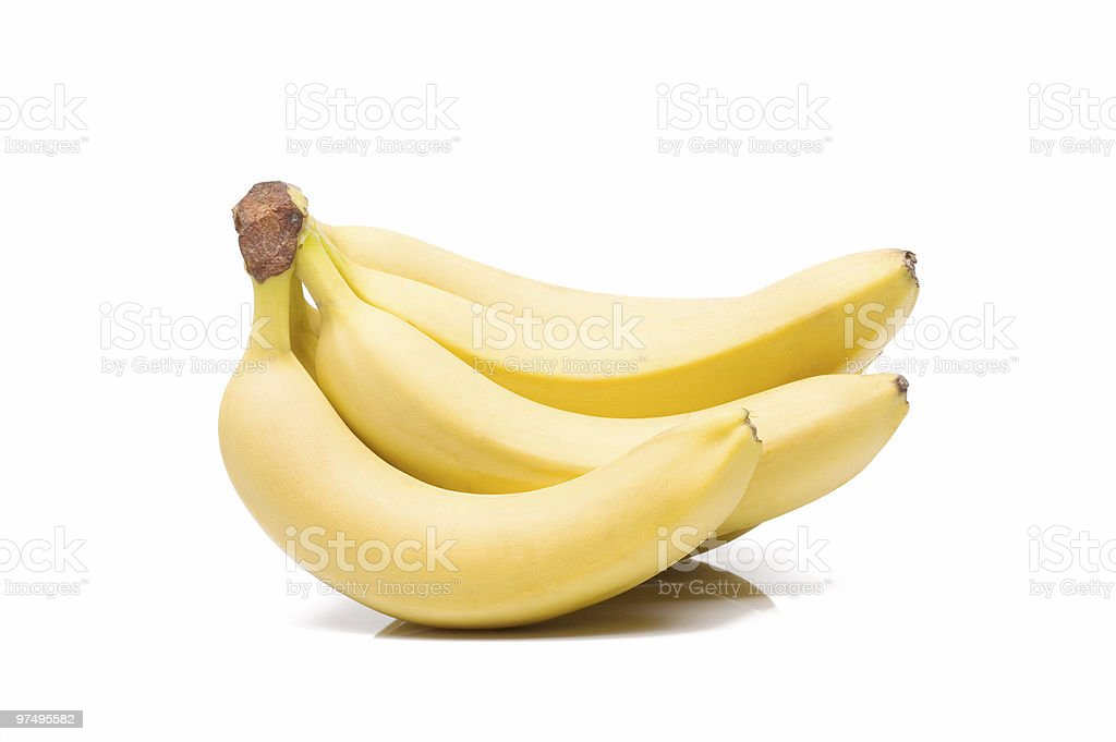 Banana bunch royalty-free stock photo