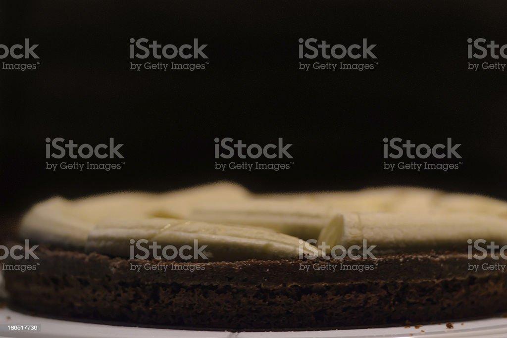 Banana cake royalty-free stock photo