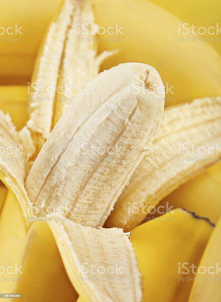 Banana closeup royalty-free stock photo