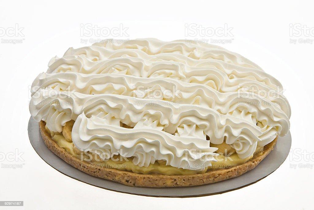 Banana Cream Pie stock photo