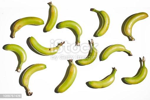 istock Banana Isolated on White Background 1059767426