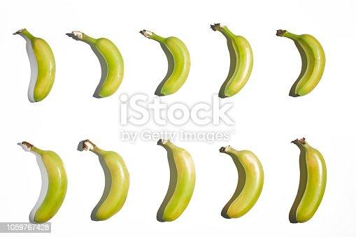 istock Banana Isolated on White Background 1059767428