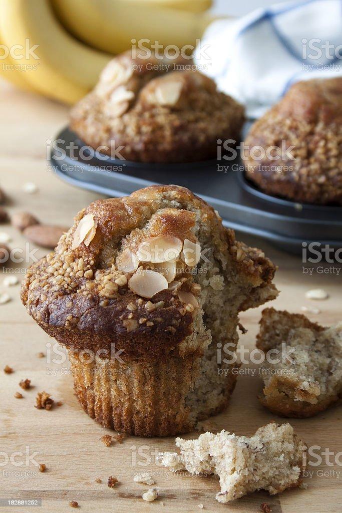Banana Muffins royalty-free stock photo