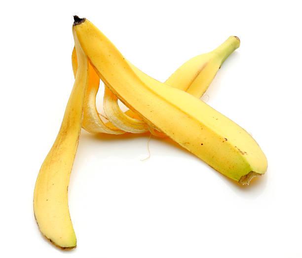 Banana Peel Banana Peels: banana peel stock pictures, royalty-free photos & images