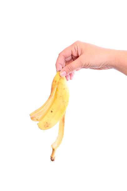 Banana peel Banana peel banana peel stock pictures, royalty-free photos & images