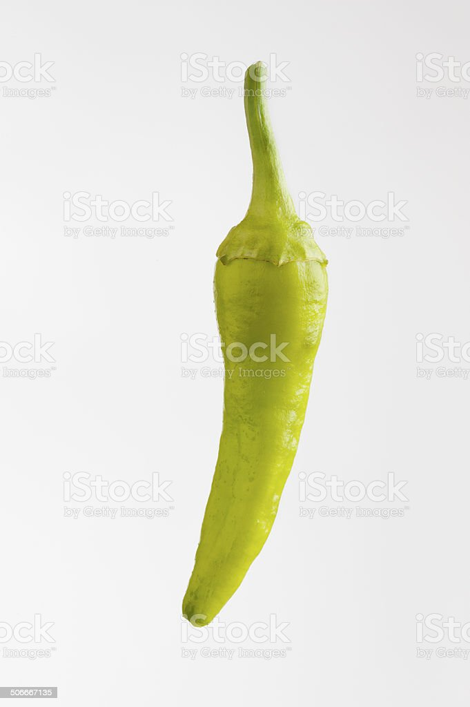 Banana Pepper stock photo
