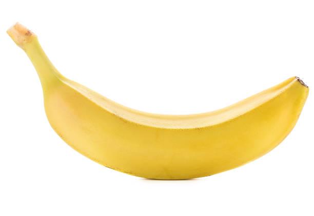 Banana Banana fruit, isolated, white background banana stock pictures, royalty-free photos & images