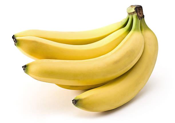 Banana (Clipping Path) stock photo