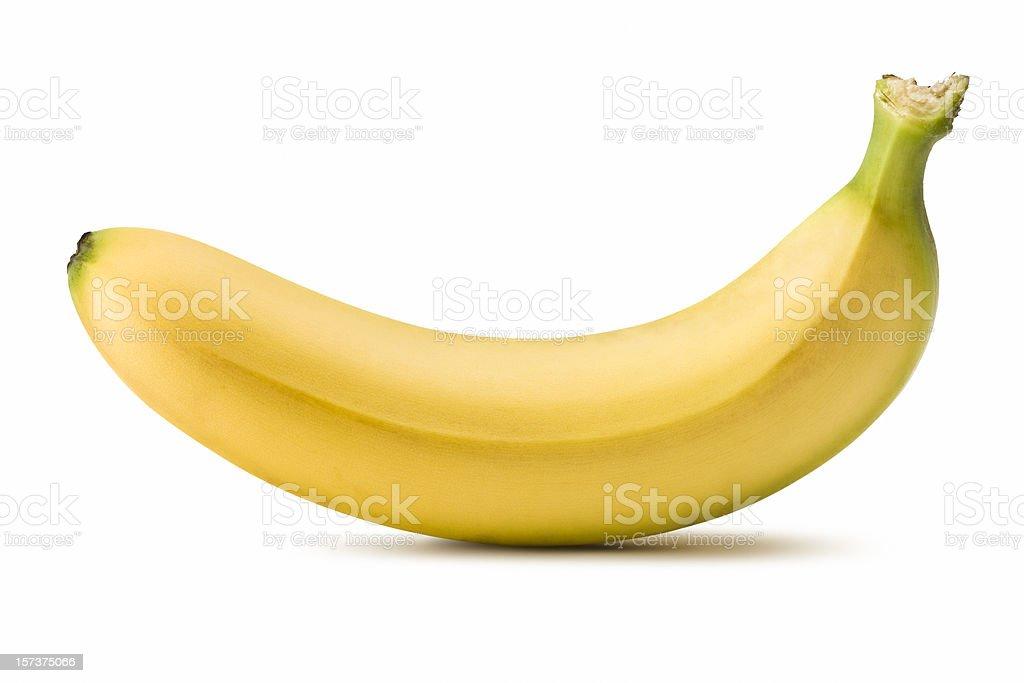 Banana (Clipping Path) bildbanksfoto