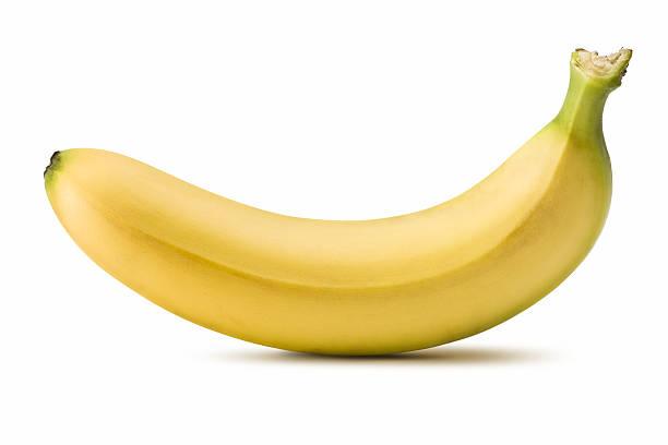 Banana (Clipping Path)  banana stock pictures, royalty-free photos & images