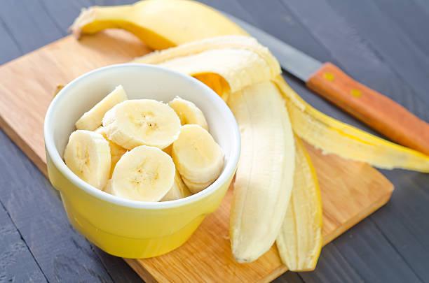 banana banana in bowl banana stock pictures, royalty-free photos & images