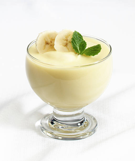 Banana Pudding  pudding stock pictures, royalty-free photos & images