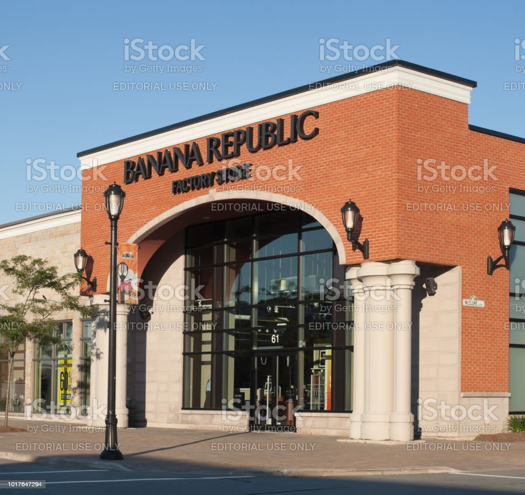 Banana Republic Factory Store stock photo