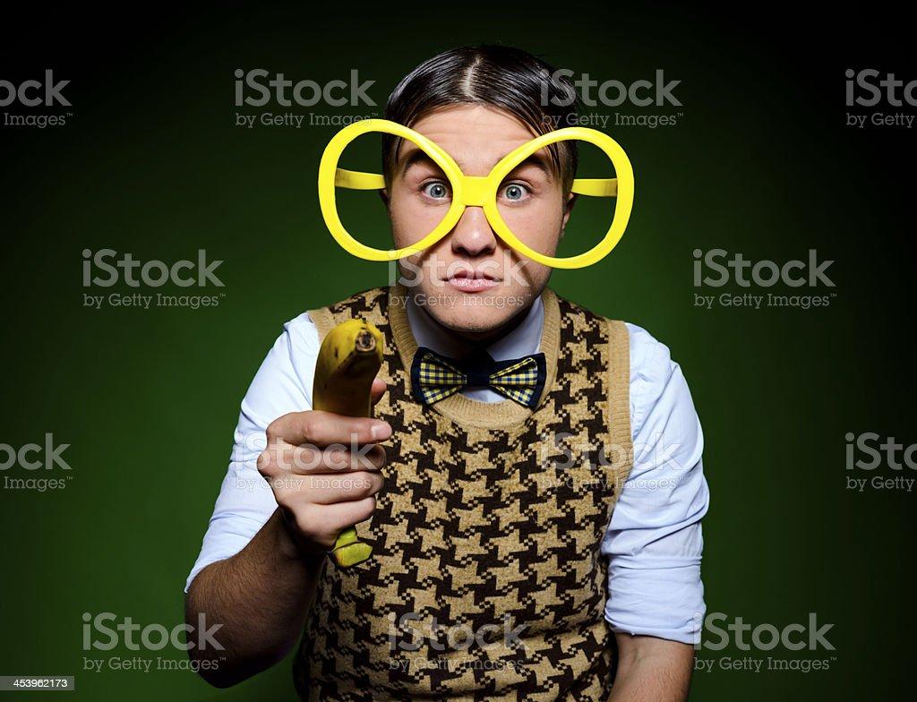 banana shoot stock photo