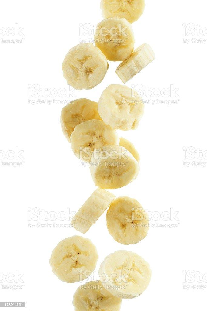 Banana Slices bildbanksfoto