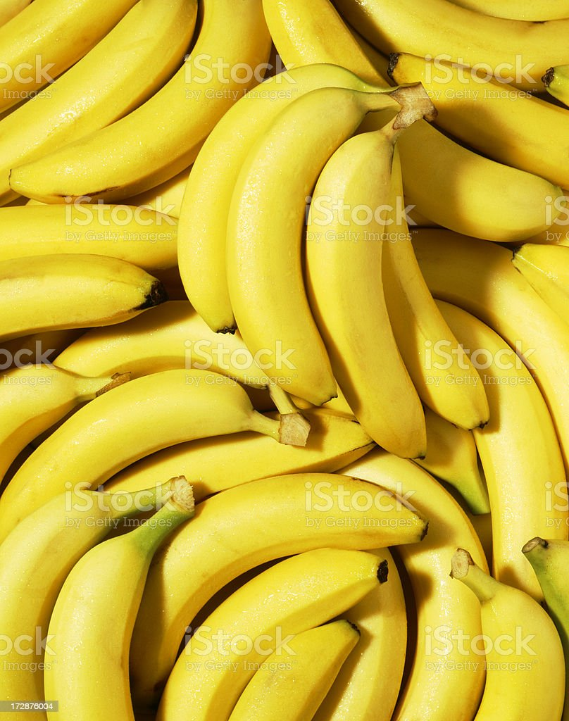 Banana wallpaper (2) stock photo