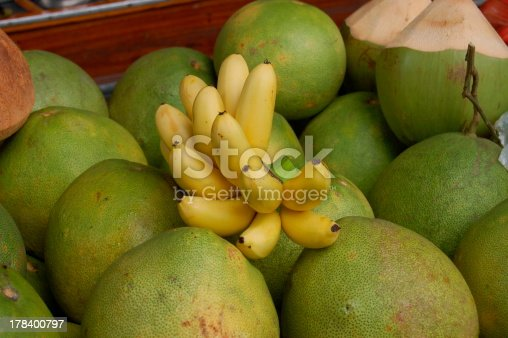 istock bananas and  coconuts 178400797