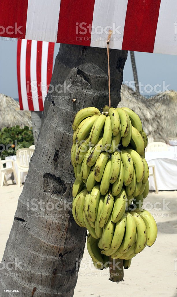 Bananas Independence Day Beach Party royalty-free stock photo