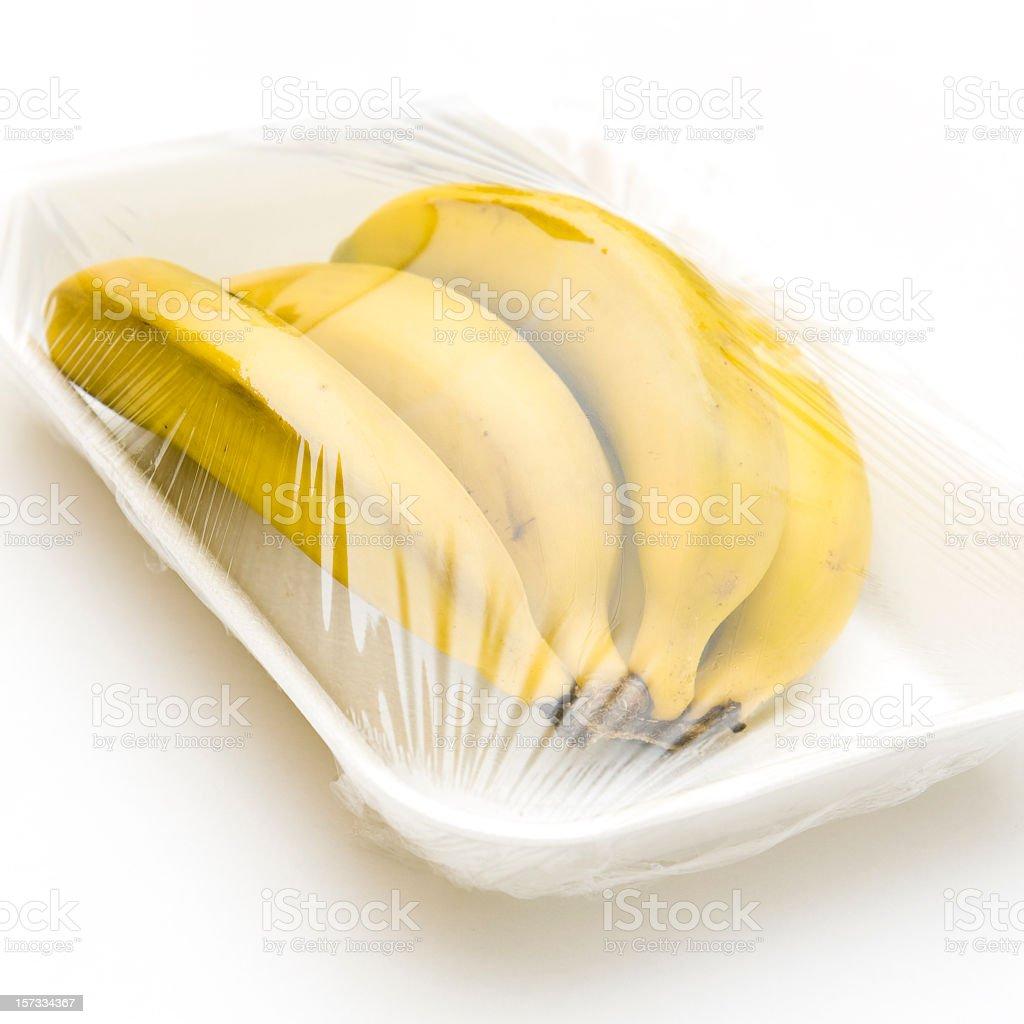 bananas on tray royalty-free stock photo