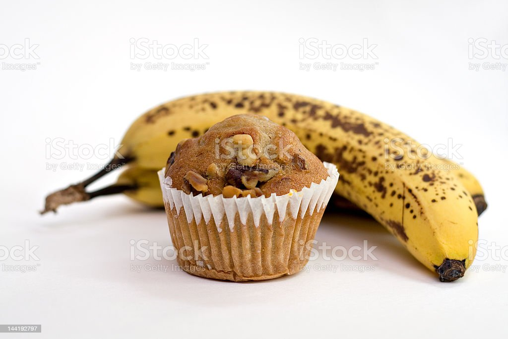 Bananas or Muffin? stock photo
