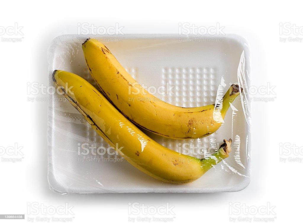 Banana's royalty-free stock photo