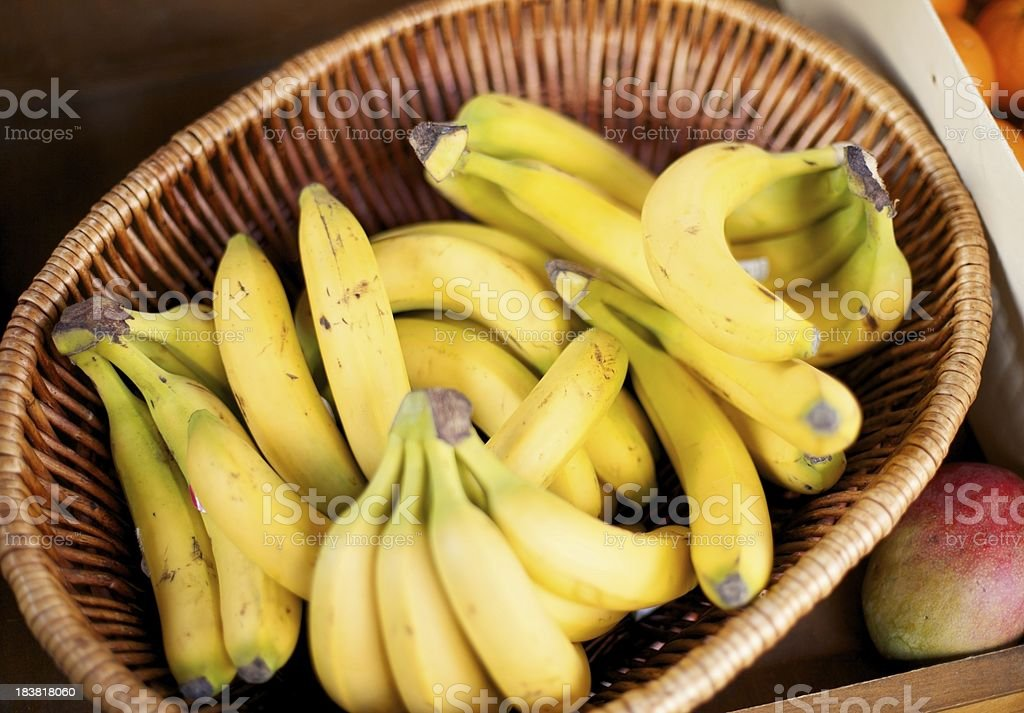 Bananas... royalty-free stock photo