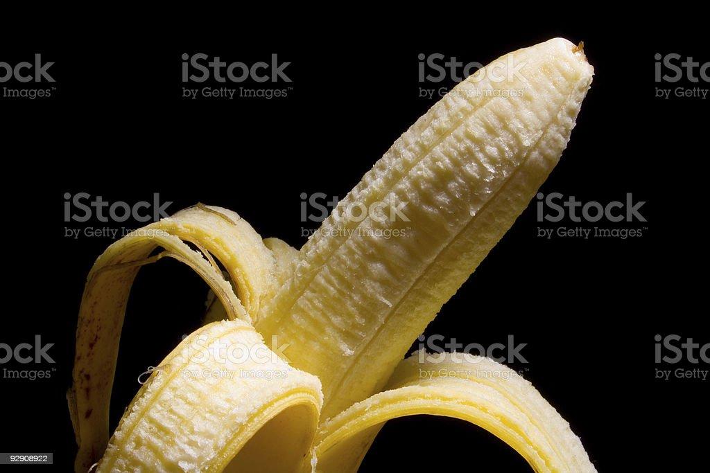 banane épluchée royalty-free stock photo