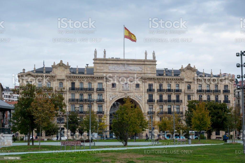 Banco Santander, España - foto de stock