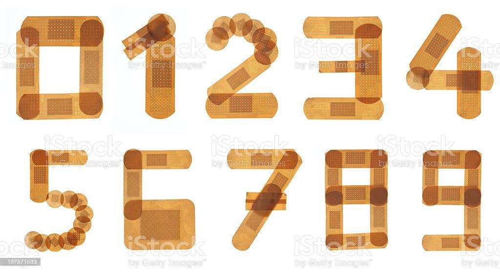 Band Hilfe Schriftart Alphabet Stock-Fotografie und mehr Bilder von ...