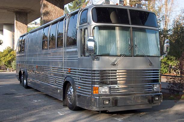 band-bus - tour bus stock-fotos und bilder