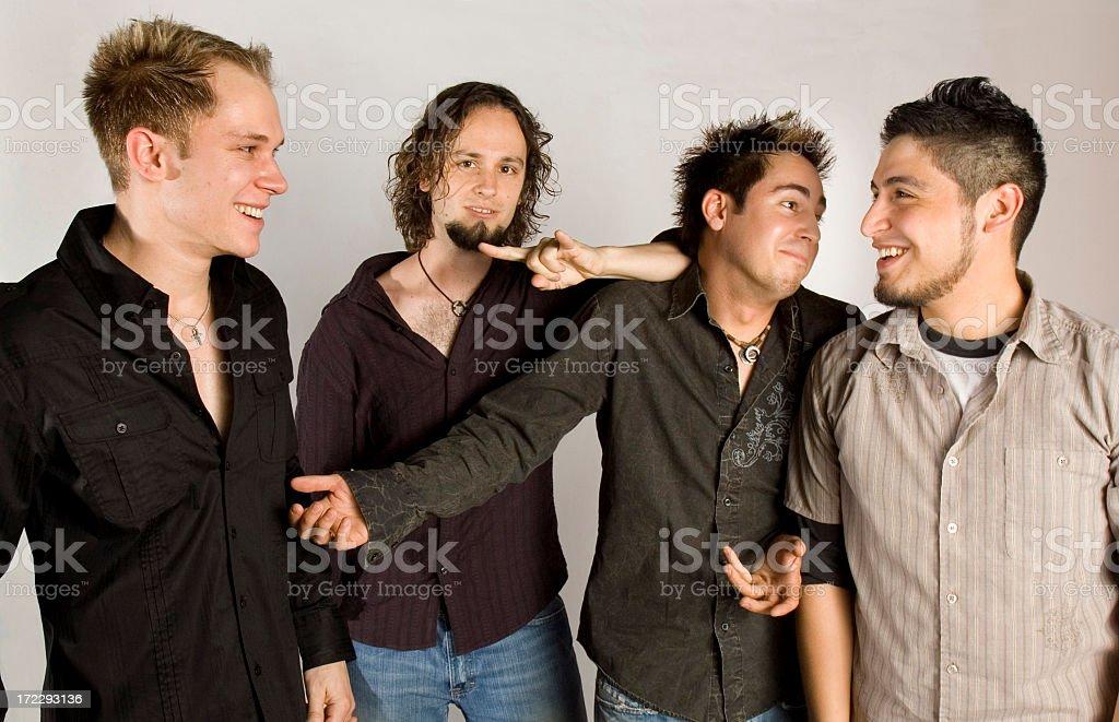 Band having fun royalty-free stock photo