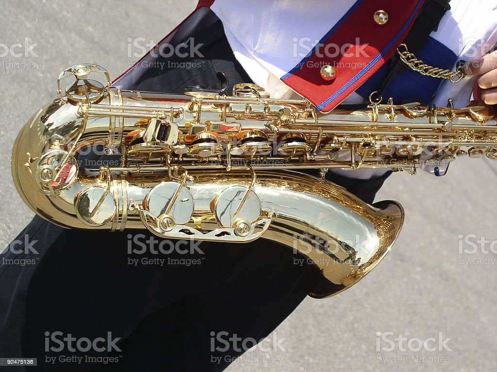 Band Instrument royalty-free stock photo