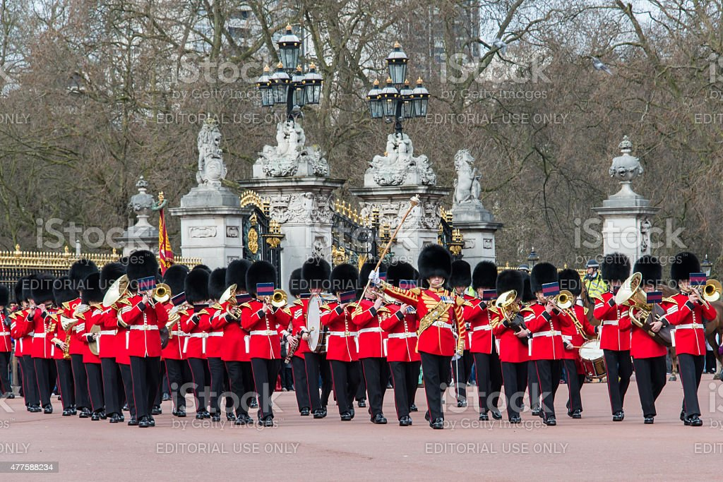 Band of the Grenadier Guards 5 stock photo
