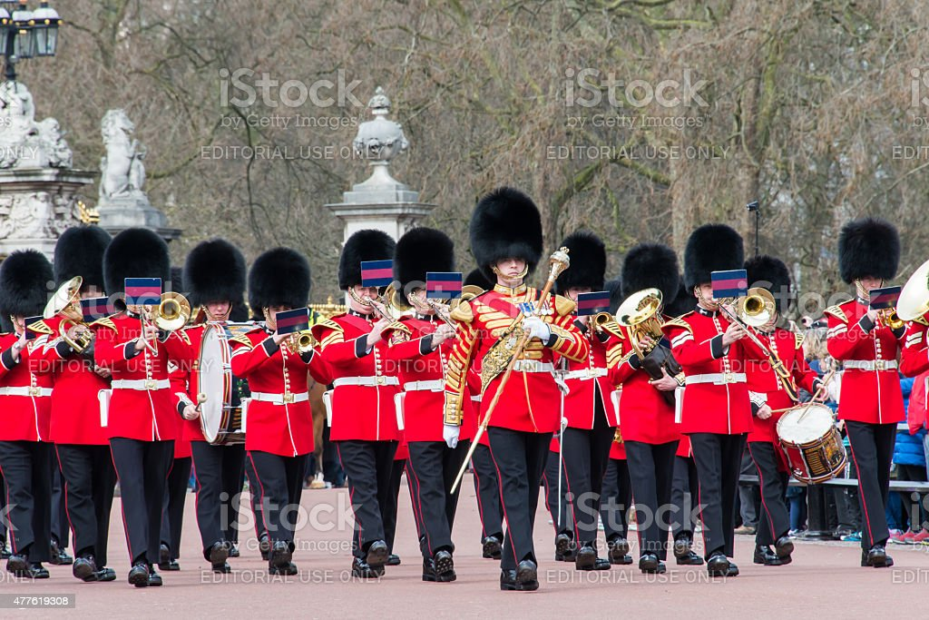 Band of the Grenadier Guards stock photo