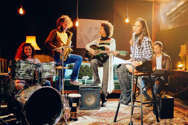Bandpraxis im heimischen Studio. – Foto