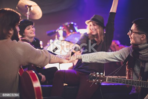 849362192istockphoto Band rehearsal 639823284