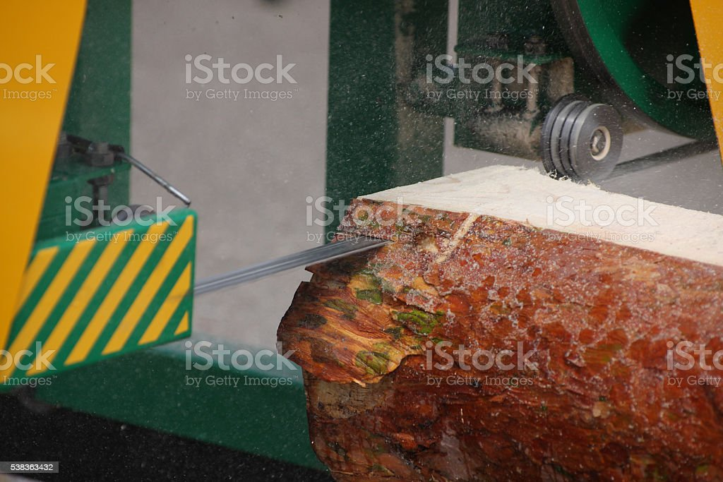 Band saw stock photo