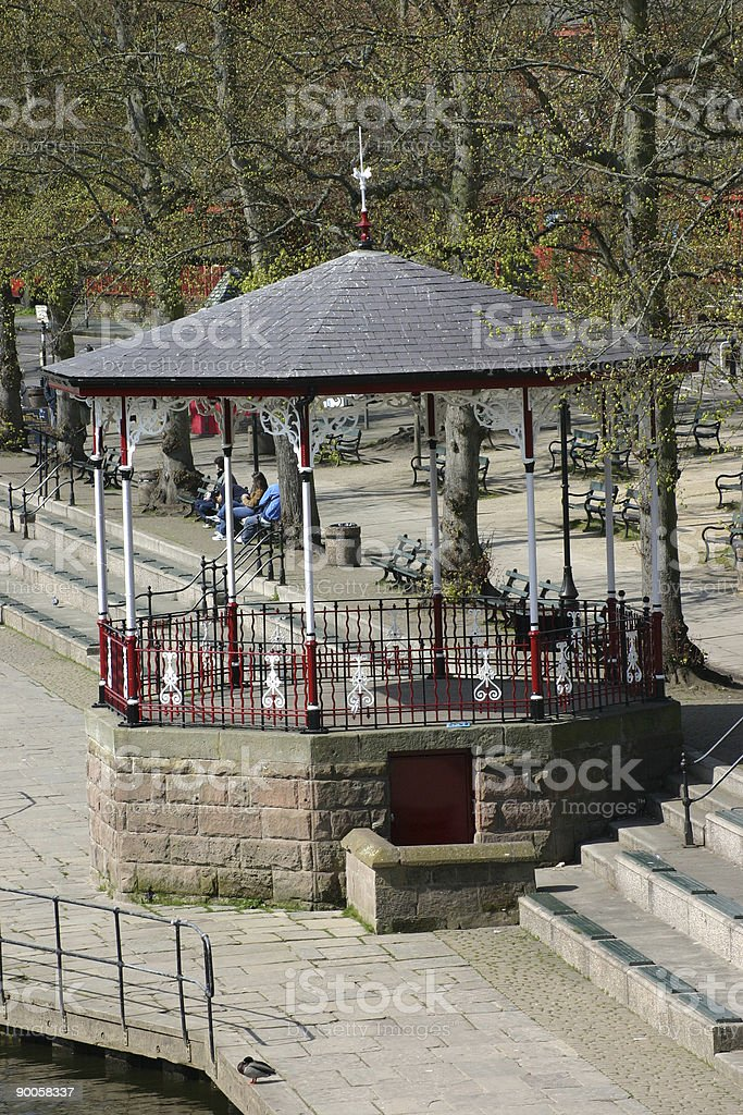Band Stand royalty-free stock photo