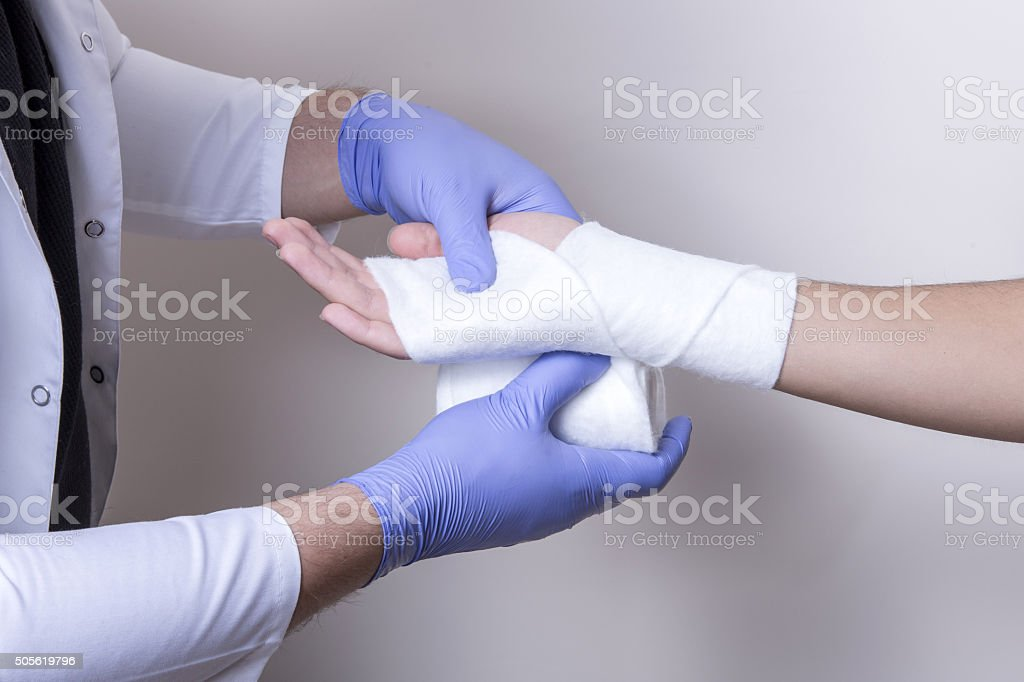 bandage stock photo