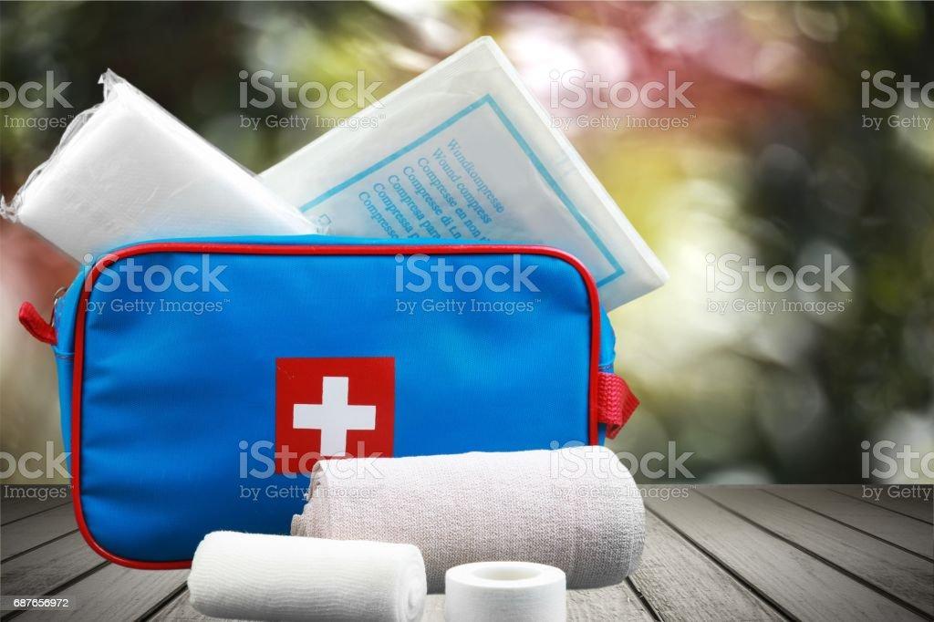 Bandage. stock photo