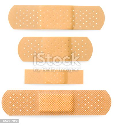 Bandaid - With Clipping Path