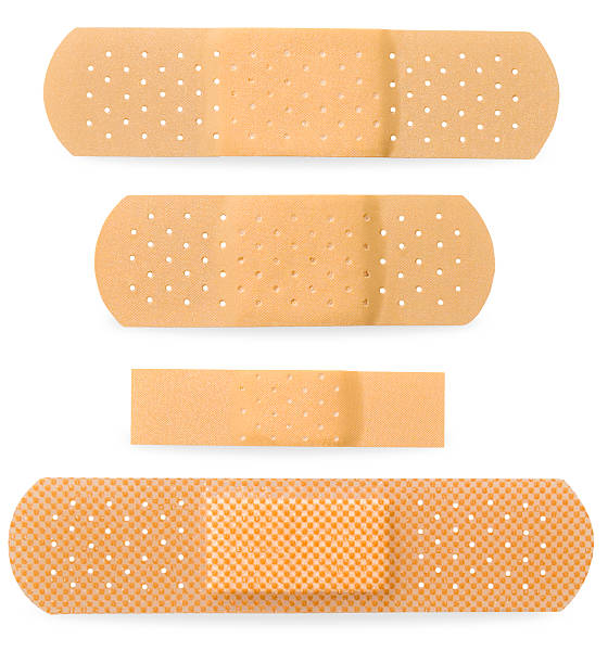 Bandaid Four Size stock photo